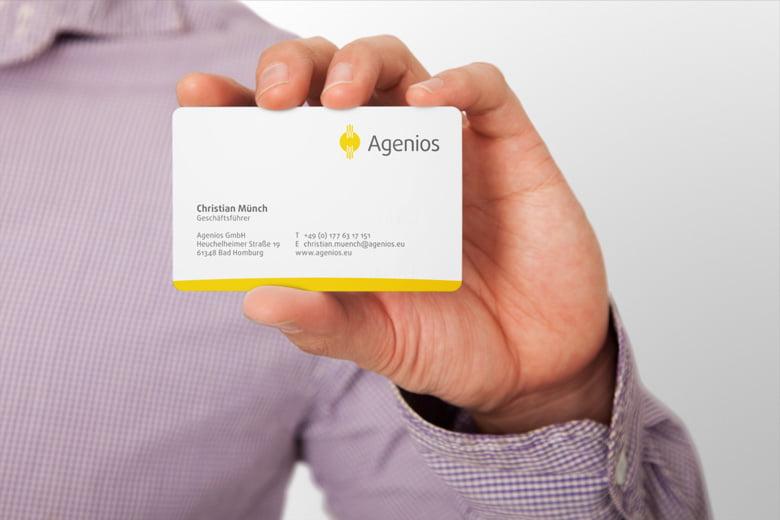 Visitenkarte Agenios